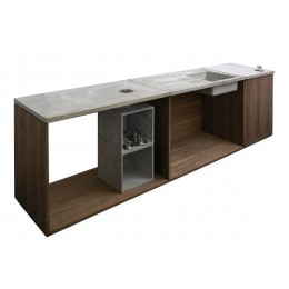 Купить кухонную столешницу из бетона