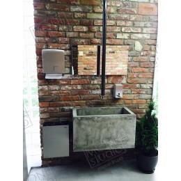 Купить умывальник из бетона