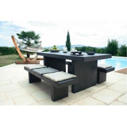 Комплект мебели из бетона