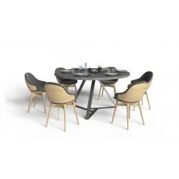 Столешница круглая для обеденного стола