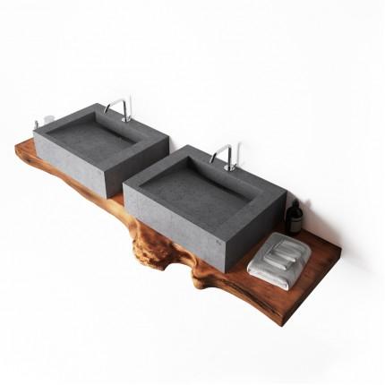 Умывальник из бетона консольный MONE studio